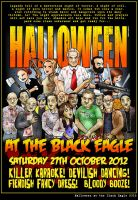 Halloween at the Black Eagle 2012 by CitizenWolfie