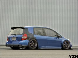 Honda Jazz-fit by Yzn90