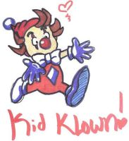Kid Klown in Crazy Chase by Kawaii-Chocobo