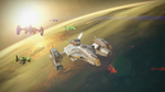 My New Ship and the Fireteam by Firewarrior119