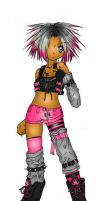 Punk in Pink by oOHyperOo