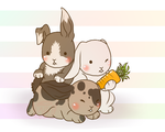 Buns by HalfBloodedVampire
