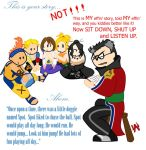 Storytime with Auron by AtsuiChokoreto