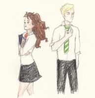 Dramione by Stored-with-yew-bow