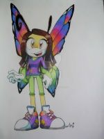 Naira Bullon the Butterfly by AriLorenHedgehog