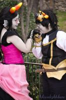 Fef and Sollux- Steampunk version by Moonlight-hero