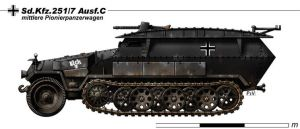 Sd.Kfz.251.7 Ausf.C by nicksikh