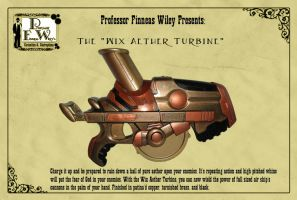 The Wix Aether Turbine by davincisghost