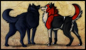 .:Lay and Zalt: Look at our beautiful butts:. by Mayasacha