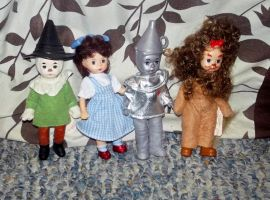 Dorothy and Friends by TheWizardofOzzy