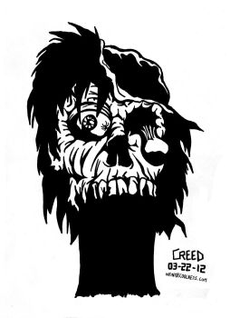 Jawless Zombie by CreedStonegate