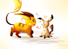 Chu? Kyu! by stealthclaw96