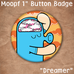 Dreamer Badge by moopf