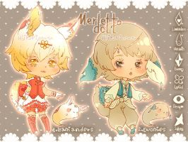 Auction : Merletto Doll Set 1 [CLOSED] by HyRei