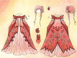 Angel Dress Design by Eranthe