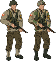 Oceanic Infantry Circa 1941 by Lapeer