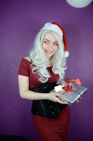 Christmas pin up 07 by GifsandStock
