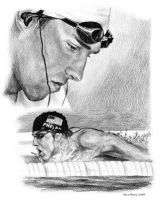 Micheal Phelps by richieuchiha93