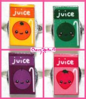 Cute Juice Rings by CherryAbuku
