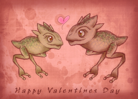 .:+Happy Valentines Day+:. by Kitty-Vamp