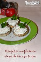 Mushrooms stuffed with cream cheese and chicken by DanutzaP