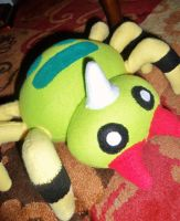 Spinarak Plush by Sparkle-And-Sunshine