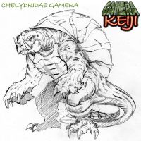 Chelydridae Gamera by MJTannacore