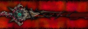 Elemental Blade: Darkness by Unkn0wnfear