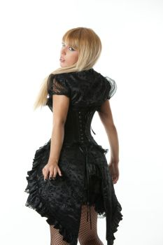 Tanit-Isis Black Outfit I by tanit-isis-stock
