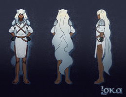 Loka Character Sheet by Kurotorasempai