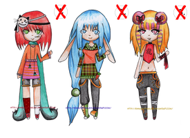 Adoptables #5 CLOSED by EnnAdoptables