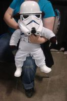 Baby Storm trooper by Draybay