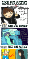 like an artist by SayoriSakura