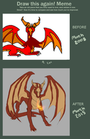 Before and After by DragonOfIceAndFire