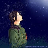 APH: China, staring at the moon by undercreed-genesis