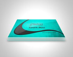 Business Card 4 Frenesia DESIGN by benny89sl