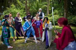 Baddies vs Kenshin by CosplayCousins