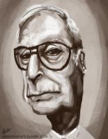 Micheal Caine Speed Paint by derekblairart