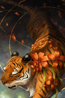Tiger Lilly by AlpariArt