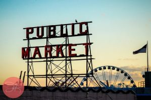 Street Snap: Pike Place Market by akitakuya