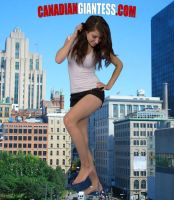 Giantess Jalena by GiantessFantasy