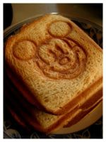 mickey the breakfast mouse. by DAN-NY