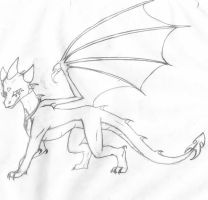 The Mystery Dragoness Revealed by AmberWolfy