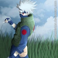 Kakashi in colors by ahanblazer