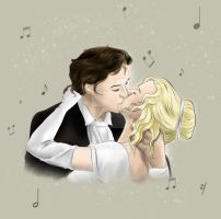 Beethoven and Cecilia by Ayhe