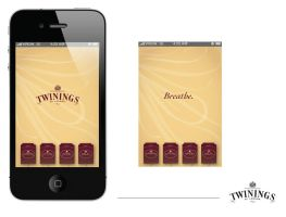 Twinings iPhone App. Part 1 by carrena10