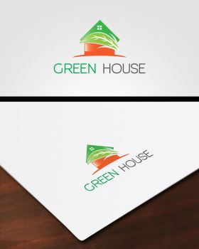 Green House Logo by pascreative