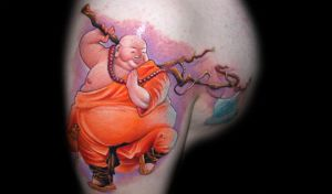 monk by redliontattoo