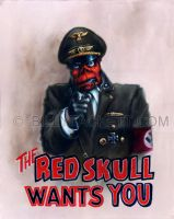 The Red Skull Wants You by billytackett