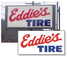 Eddies Tire Vectorized Logo by Phrostbyte64